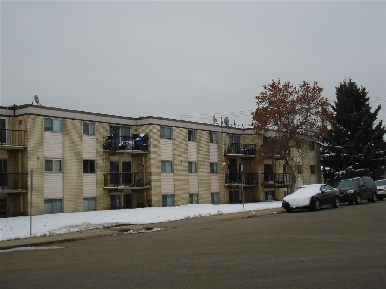 This 1 BDRM,2nd floor unit is located near the 133 AV access. Its very near to all age schools, parks, shopping and commercial/Industrial establishments especially suited for the working folk as well take The LRT to commute to anywhere else in the City. This unit offers a walk through kitchen towards the dinning area. There is a huge living room with a balcony overlooking towards the front lawn and the 133 AVE. front  living room with sliding doors to the south-west facing balcony. There is a generous sized bedroom adjoining the living room and the 4 piece bath. The large windows throughout offer plenty of natural light. There are spacious closets plus a huge storage space. Great opportunity for a first time home owner, students or investors. Phenominal value at $66,900.