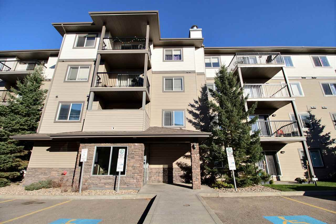 LOCATION! LOCATION! LOCATION! Hermitage Park and river valley trails at your back door, as well as easy access to Anthony Henday and Yellowhead Trail. This 2 bedroom, 2 bathroom condo features an ensuite and walk-through closet in the master as well as newer flooring. There is insuite laundry and a titled parking stall. This home is a MUST SEE!