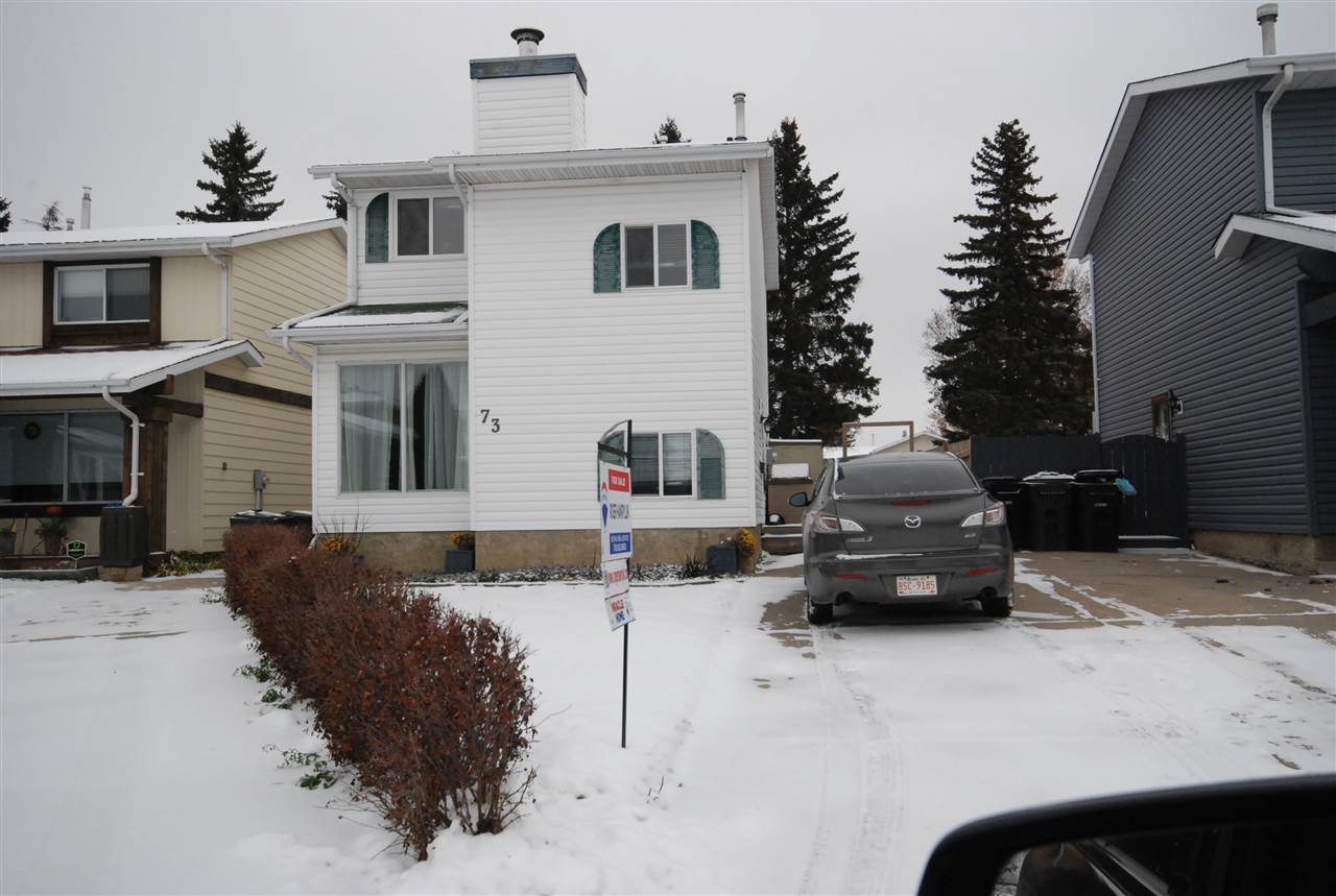 Cozy and Quaint  Fully developed 3 bedroom two story located in the heart of Spruce Grove. Walking distance to schools , parks, trails and playgrounds. Ideal for the young Family. Features hardwood flooring, fireplace, patio doors to fenced back yard. All appliances included as well as garden sheds. Move in ready and affordable as well.