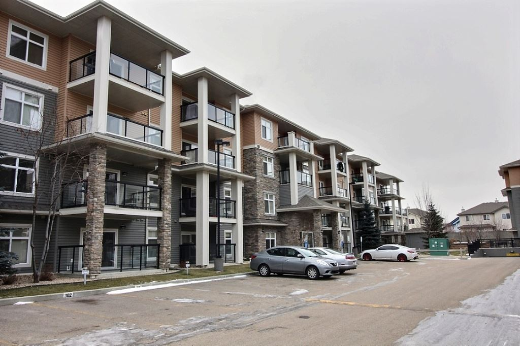 Excellent 2 bedroom condo in an A+ location with TWO UNDERGROUND PARKING STALLS. Step into this spacious 2bed/2bath unit which has been very well cared for. Quiet unit that faces away from the street and into the neighbourhood. Two large bedrooms, including the master with its own walk-through closet to the 3-piece ensuite. Don't forget the additional 4-piece bath, in-suite laundry, and tons of storage. The building also features a social room and gym. Excellent location close to tons of amenities, shopping, walking areas & trails, and easy access to transit and major roadways. Don't forget - TWO titled underground parking stalls with a storage cage on each!