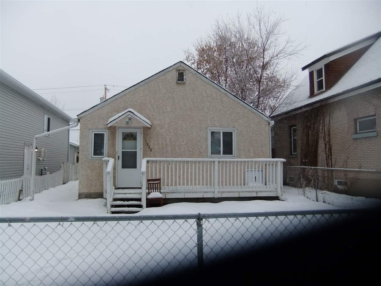 Approx 885 sq ft. 2 good size bedroom bungalow. Newer flooring, cabinetry, paint, furnace and HWT, new roof in 2017, newer 20x24 garage with insulated and dry walled , stucco exterior, good for 1st time buyer or investor, asking $189.900.