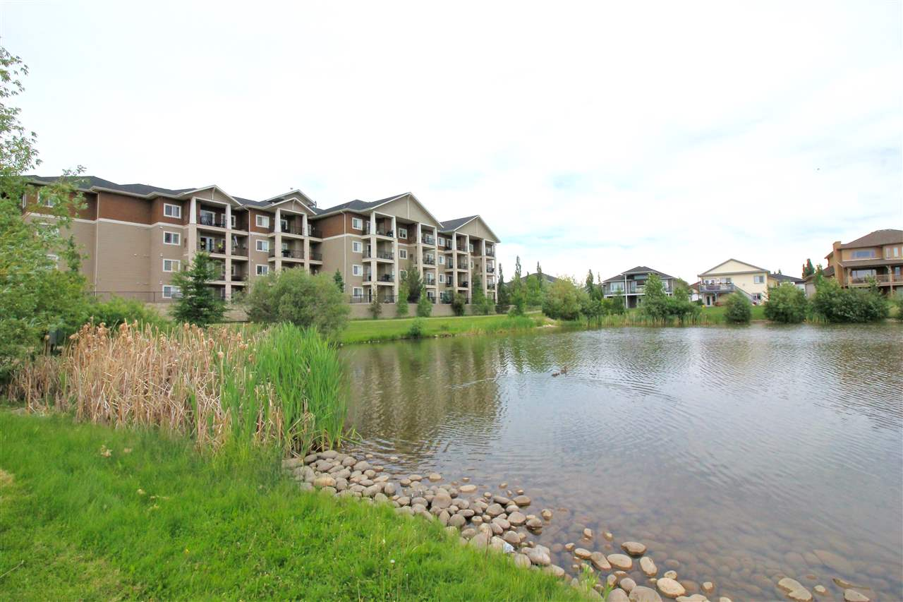 Investors, First Time Buyers or Looking to Downsize? Excellent Locale that Satisfies All of Life?s needs with Convenience to -Shopping, Parks, Restaurants, New K-9 West Haven Public School and Ease of Access to Hwy 39, Hwy 2 & Only Minutes From Edmonton. FEATURES Include: Low Condo Fee?s, Open Floor Plan, Contemporary Kitchen with Maple Cabinets, A Functional Island with Eating Bar, Modern Countertops and Sleek Tile Backsplash, 2 Bed/2 Bath Unit Plus In-Suite Storage. Additional Features Include: 9? Ceilings, In-Suite Laundry, 6 Brand Name Appliances, Designer Professional Paint Throughout & a Private Deck & Access to a Fitness Room. Ownership Includes a Titled, Underground Parking Stall. Good Secure Building with On Site Management. Escape from the Ordinary!  Dramatic, Contemporary but Practical! This Unit Exemplifies Convenient, Urban Living in a Choice Locale.
