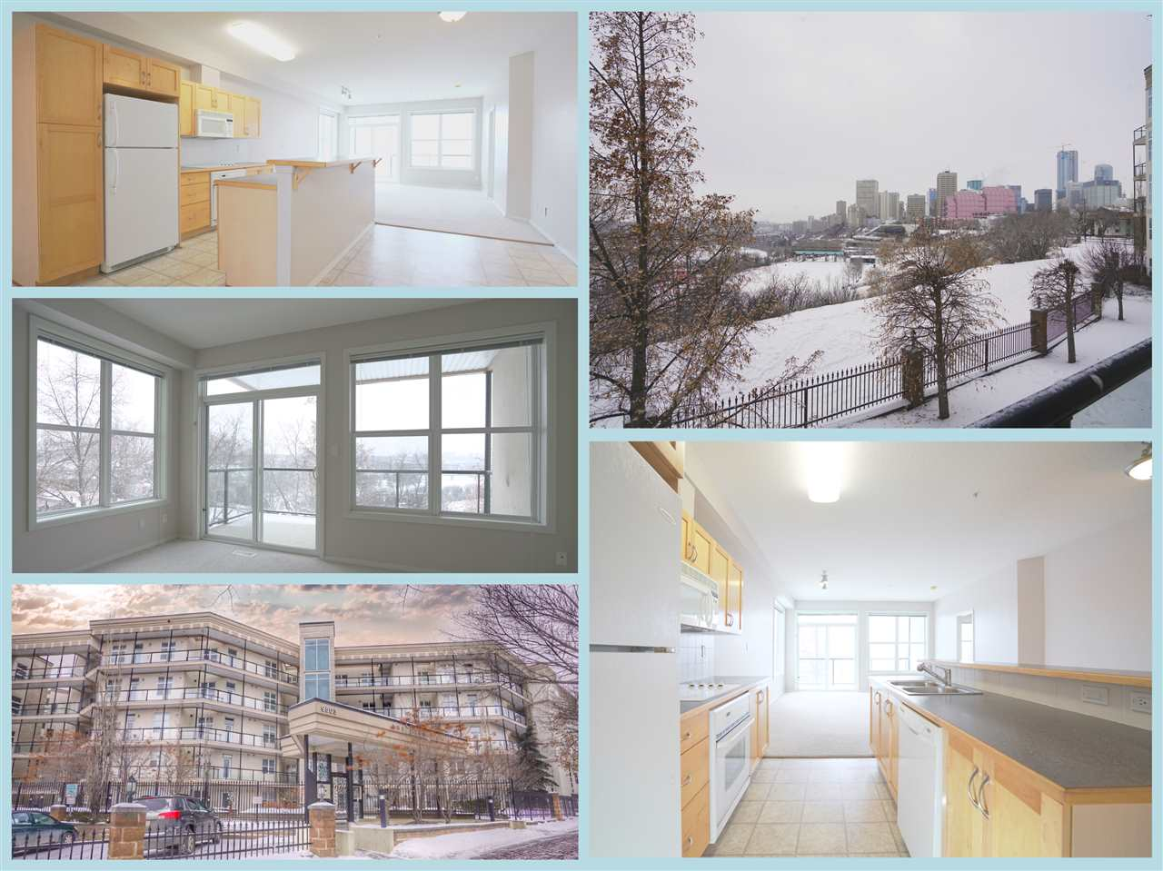 GORGEOUS RIVER VALLEY VIEWS FOR 2 BED 2 BATH WITH HEATED UNDERGROUND PARKING+STORAGE CAGE UNDER $300K LOCATED MINUTES FROM THE QUARTERS AND DOWNTOWN EDMONTON! Incredible price for your very own Downtown Condo and take advantage of the prices in this buyer?s market! THE VIEW is located atop Riverdale, the Louise Mckinney Riverfront park and steps from future QUARTERS VALLEYLINE LRT STOP! Countless investments planned for this vibrant area as Downtown continues to transform and grow. Best features include wide open floor plan with picture perfect window capturing the sunny south river valley views, your own control of Heating and air flow, large bedrooms, extra storage and a home that gives you the opportunity to update and make it your own! Don?t miss out on the best value in the market for apartment condo steps from one of the hottest upcoming neighbourhoods steps from Downtown! Take a look and get ready to move right in!