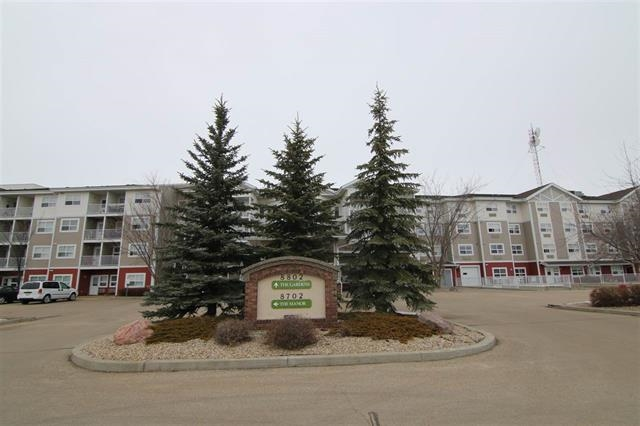 CHECK THIS PRICE! THE GARDENS AT SOUTHFORT,  512 sq ft one bedroom apartment in a great location. Awesome features and amenities, INDEPENDENT living with some support, a mandatory service plan that INCLUDES one meal per day, life call, cable, twice per  month light cleaning and laundry service!  Open floor plan, kitchen, living room. Balcony, one bedroom, 4pc bath with stand up shower. AIR CONDITIONING! Complex has large dining area, beauty salon, games room, theatre room, fitness room,  reading areas with fireplaces. Private function room available, Condo fee 796.11 INCLUDES heat m, water/sewer, cable, non pay laundry suite. Great care free living. Parking stall included.