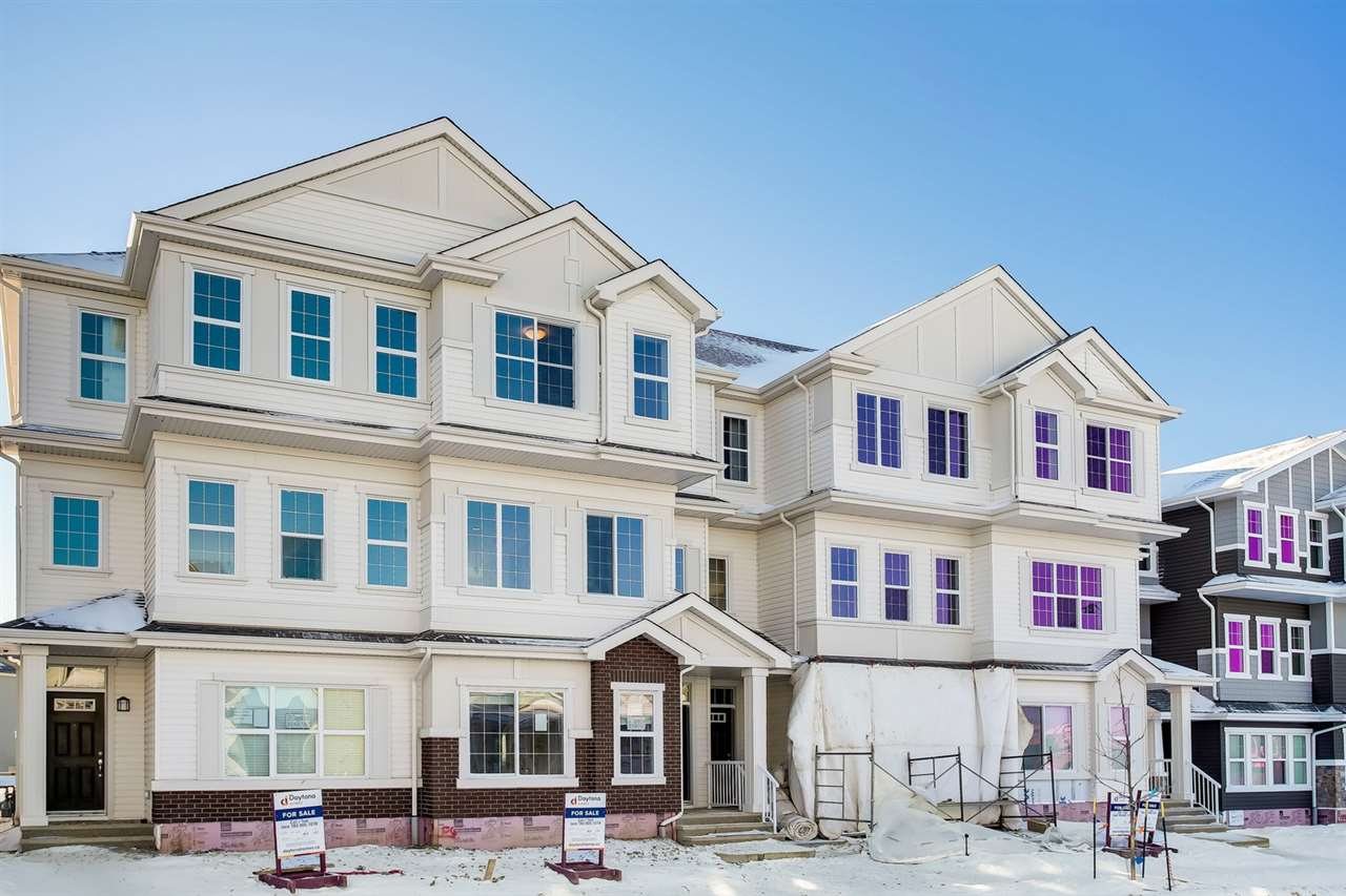 Welcome to Chappelle! An incredible opportunity to move into a new 3 storey townhouse that currently has over 1474sqft of finished living space ? there is over 2044sqft of total living space (569sqft main floor undeveloped space). The townhouse has 3 beds, 2.5 baths, 20x20 detached garage & more! Entering the home head up the stairs to the 2nd level that is bright & open concept. The spacious kitchen includes a large island with breakfast bar, beautiful cabinetry, granite counter tops & a large dining area. Step outside from the kitchen & enjoy the 13.6x10 deck. Back inside, the kitchen is open to the living room. Continue on to the 3rd level that includes the master suite with his/her walk-in closets & an ensuite. Beds #2 & #3 are both a good size, upper laundry & 4 piece bath completes this level. The UNIQUE FEATURE of this property is the main floor ? this unfinished space can be developed into additional bedrooms, bathroom, living room & 2nd kitchen ? POTENTIAL MAIN FLOOR RENTAL SUITE! No Condo Fees!!