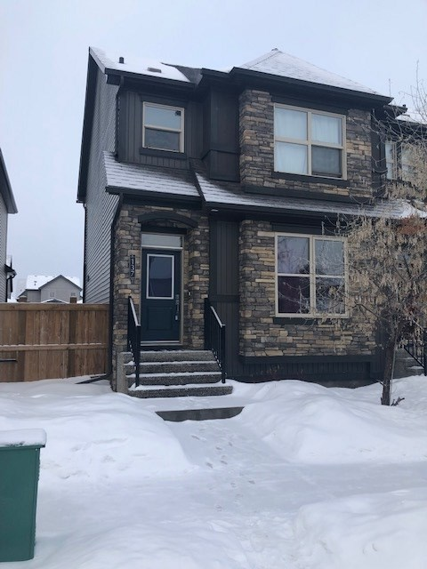 This beautiful half duplex is located in the family-oriented community GREENBURY in Spruce Grove. This home comes with plenty of living space and features modern laminate flooring, stainless steel appliances, and granite countertop. The main floor features a large living room, concept kitchen and a dining area. The upper level has a master bedroom with en-suite bathroom, 2 additional bedrooms and a full bathroom. Enjoy the summers in the large deck & landscaped backyard. House comes with a detached double garage. This property is located close to all amenities including shopping, restaurants, schools, and public transportation.