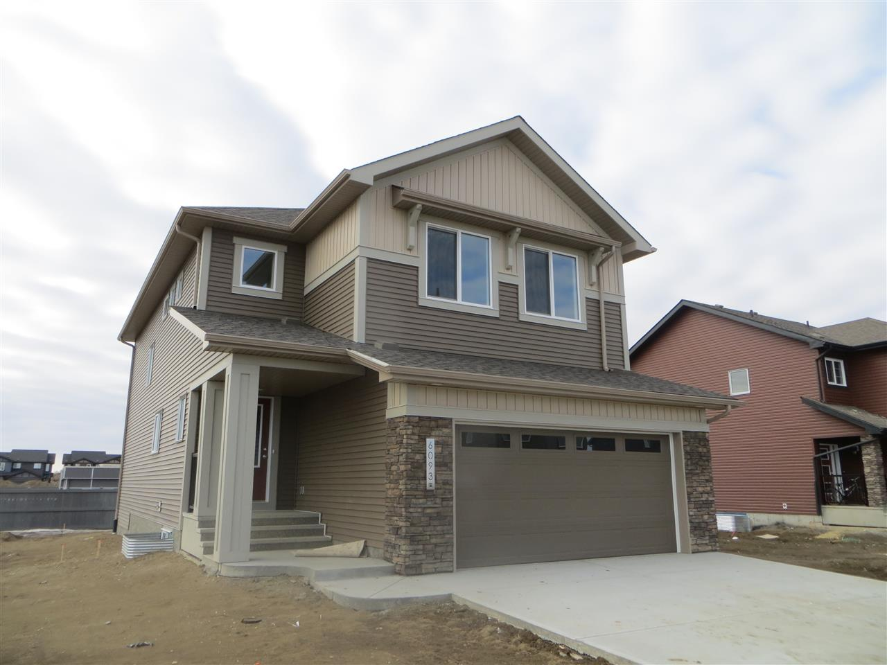 Brand new home, with over 2400 square feet and 4 bedrooms!  This home is ready for immediate possession and will be fully landscaped.  Open floorplan with 9 foot ceilings. Features and upgrades include: butler's pantry, island kitchen with granite counters, stainless steel appliances, laminate and tile flooring, eating area plus formal dining room, upstairs laundry, bonus room, master bedroom with walk in closet and 5 piece ensuite with glass shower, soaker tub and 2 sinks.  4 bedrooms upstairs include a 2nd bedroom with a walk in closet.  Bonus room is spacious with lots of wall space to organize your furniture. 10 year new home warranty so no need to worry.   Built Green specifications to lower your utility bills. Located in popular Arbours of Keswick!