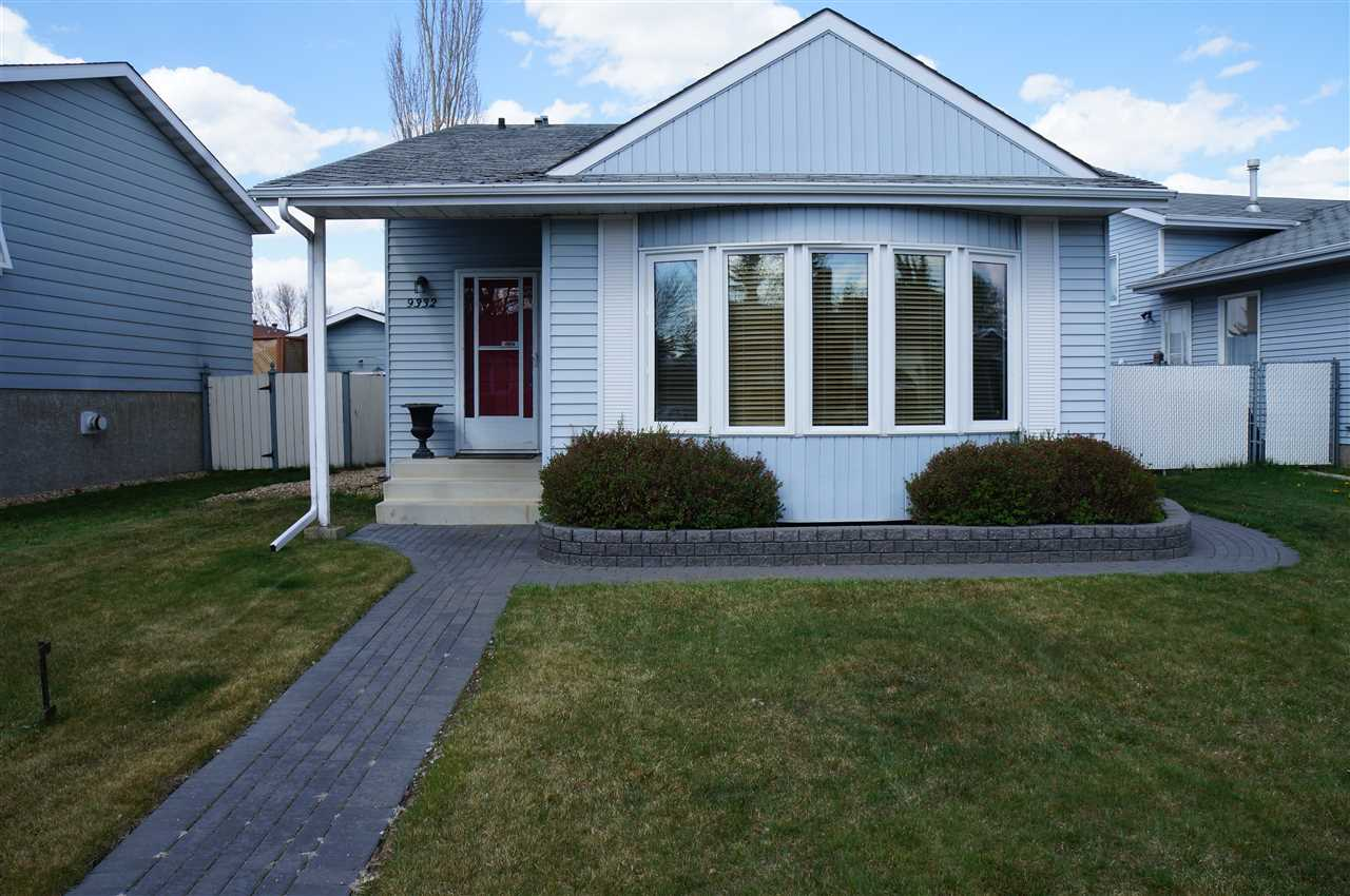 9332 167 a Ave? a must see! Pride of ownership shows in this beautifully kept 3 level split with updated flooring throughout, open concept kitchen and dining room with multiple upgrades completed in the kitchen including appliances, and new light fixtures throughout. Two spacious bedrooms upstairs and a completed basement with bedroom ensures very comfortable living space. Situated in Lago Lindo, has excellent access to parks, walking trails and also provides quick access to the Anthony Henday. This is the perfect place for first time homebuyers or those looking to downsize with style and comfort!