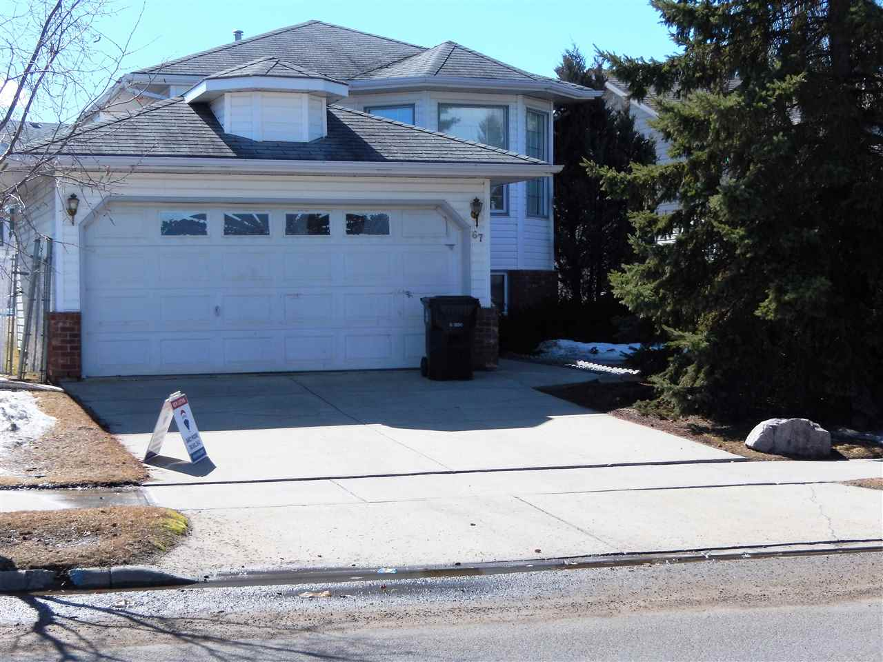 This BI-LEVEL in the wonderful area of DEER PARK has 2 bedrs up and 2 down.  There is a 4 PCE BATHR on the main and a 3 PCE BATHR downstairs.  The main floor has a nice layout with the U-shaped kitchen beside the Dining area which leads out the patio doors to the back deck. The basement is complete with a Family room, but needs some repairs to the drywall and needs flooring.  The whole house could use paint & new flooring as well. Try your handywork to get this home back up to the state it deserves!
