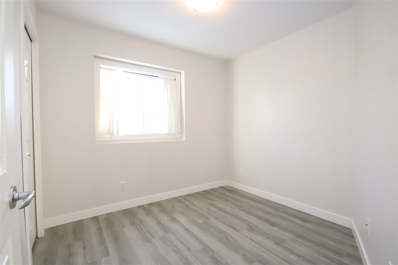The ample sized second bedroom also has a south facing window.