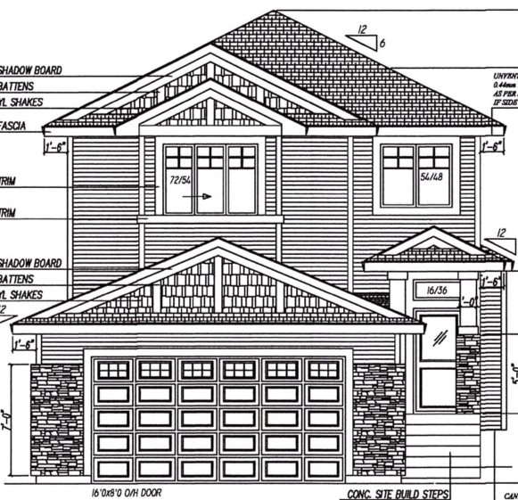 Now under construction. 1550 square feet. Double attached garage. 9? main floor and 9? basement. Kitchen with functional island and extra large corner pantry. Great room has gas fireplace. Master bedroom has ensuite and large walk in closet. Three bedroom up. Rear deck. $3,500.00 appliance credit. What a great place to start. For Additional Information visit the Super Homes showhome @ 5 Wallace pointe, Fort Saskatchewan