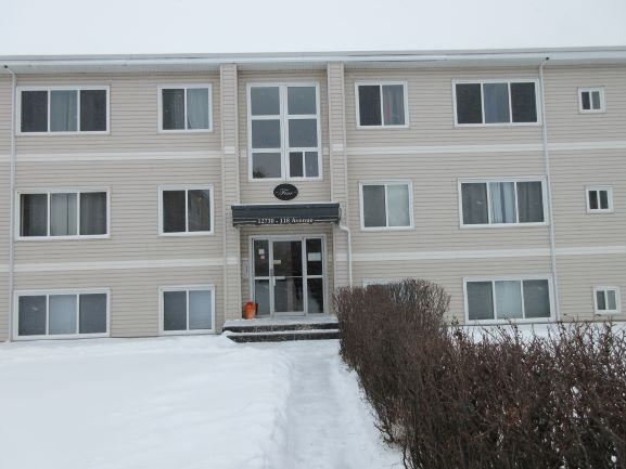 Affordable 2 bedroom apartment condo in Sherbrooke.  Top floor west facing unit. Centrally located near both St Albert Trail and the Yellowhead. Very close to Westmount shopping centre and public transportation.