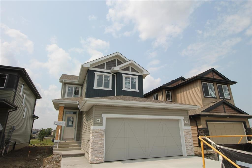 Welcome to this beautiful built 2 story by Encore Master builder. The ?Renzo 2? with a Legal rental suite has everything you need in a brand-new home. Once you enter the home you will find a beautiful large open concept area that is very functional. Great room and kitchen are a great size and the dining room is large enough for family gatherings. Upstairs you will find a total of 3 bedrooms, 2 bathrooms and laundry room. The basement is fully finished and has a full kitchen that?s open to the living room, a full bathroom and full bedroom. Best part of this all you might be eligible for the ?corner stone grant? from the city of Edmonton that may give you up to a $20,000 rebate. This home is also located on one of the best lots backing onto a brand-new park.
