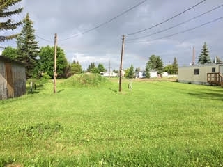 Large Residential lot in the Town of Mayerthorpe. 11.8m x 42.57m - approximately 38.7 wide x 139.6 length.