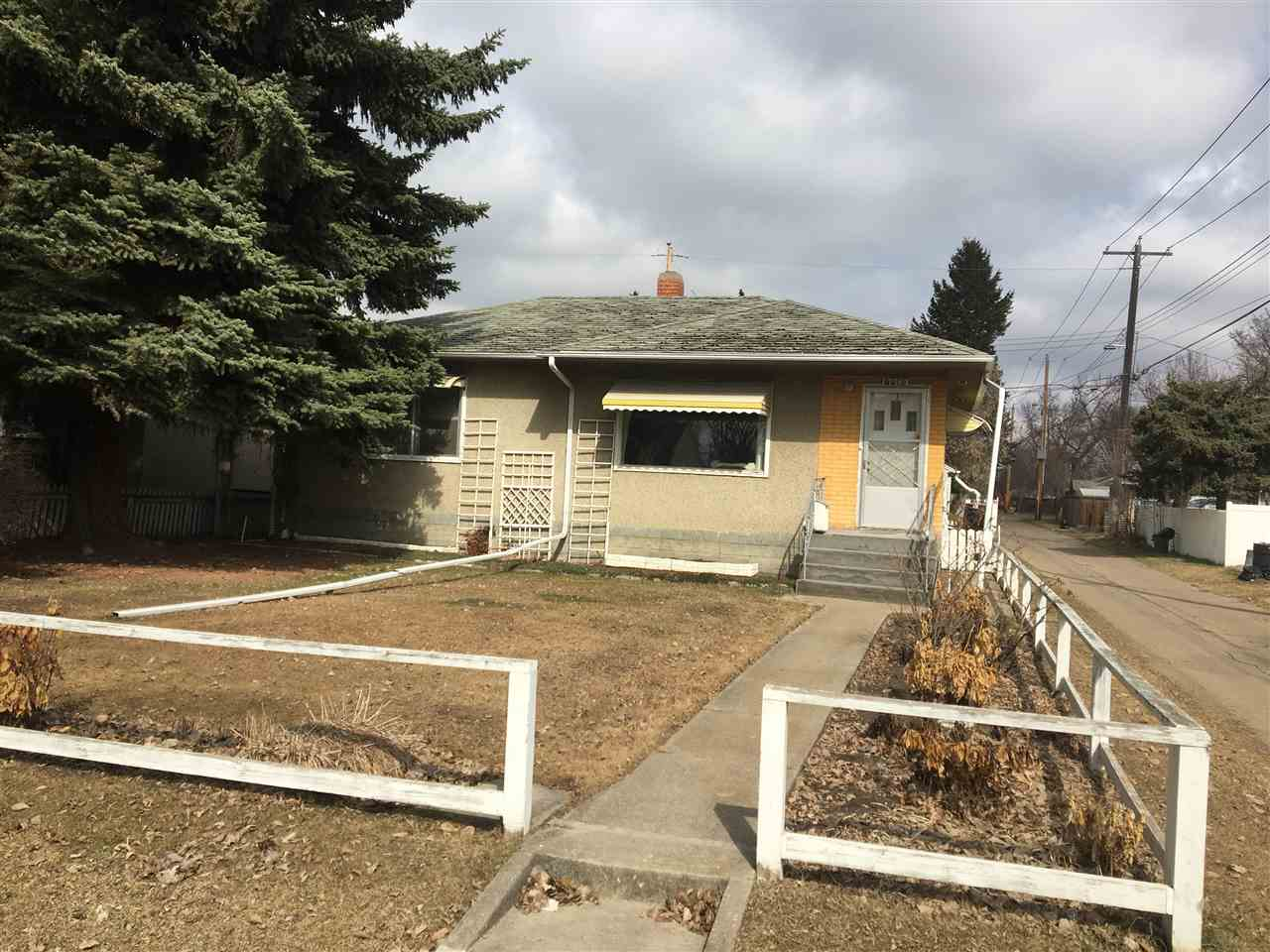 """Attention Investors - Infill Opportunity in King Edward Park. Located on a tree lined street across from park, this 800 sq. ft. 2 bed 1 bath house on RF3 46' x 130' lot is a great option for a duplex with alley access on two sides. Property is being sold """"as is, where is"""" seller does not provide any warranty. A current RPR is available to buyer. Easy access to all amenities."""