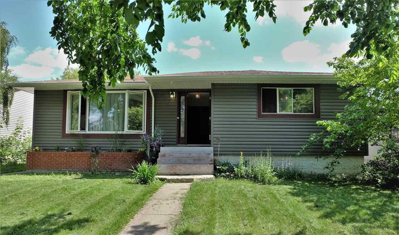 Amazing opportunity for cash flow, renovation or redevelopment - this suited 1,285 SF bungalow on a 51x131' lot is a triple threat!   In the heart of the beautiful neighborhood of Holyrood this massive bungalow offers  3 bedrooms upstairs and 3 down with a newer furnace hot water tank and basement kitchen. Upgrades include a newer facade, windows, an oversized double detached garage, newer kitchen cabinets, and a very well maintained vegetable garden. Interior does need some TLC!!  Watch your investment pay it's own mortgage while the neighborhood appreciates in value - just a five minute walk from the future valley line LRT stop this 51 ft wide subdividable property on a tree lined street is a safe bet!