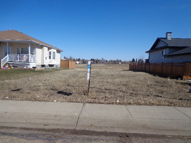 "INCREDIBLE VALUE...TOWN TAX INCENTIVES... Custom Build Your Home on this ""RARE & DESIRABLE"" ""52X110"" Lot backing a PARK & WALKING TRAIL! This Lot is located in Bruderheim's NEWEST Subdivision ""West Woodland's"". Also available is a ""52x110"" Lot located at 5401-48Ave."