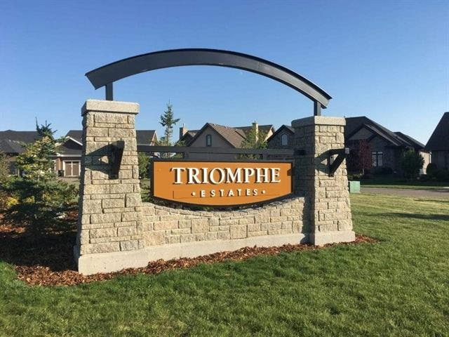 Located in the Triomphe neighbourhood of Beaumont this exceptional WALKOUT lot boasts a perfect location to design and build your dream home. Combining Priceless Privacy with Convenient Location, this lot is 7,779 sq.ft. in total size with 46 ft frontage and and can easily hold a home designed for a 46-foot pocket! Easy access to all the amenities Beaumont has to offer! Choose your builder and begin laying the Foundation for the HOME YOU HAVE ALWAYS DREAMED OF!