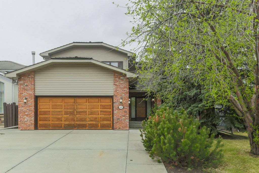 Welcome to Terwillegar Park Estates, one of the most sought after areas in SW! Fantastic family neighbourhood by the river valley where you can enjoy wilderness walks & trail biking in summer & cross country skiing in winter. Close to playground, schools, shopping, transit, Terwillegar Rec Centre & a quick drive to the U of A. Large private SW back yard with no neighbours at the back. This spacious two storey has a warm welcoming atmosphere with a traditional design.  Large living/dining room, sunny kitchen with oak cabinets, new $20,000 SUBZERO fridge, huge dinette & reclaimed brick gas fireplace in the family room. Convenient main floor den & 2 pce guest bath. There are 3 bedrooms upstairs, the master has patio doors onto a balcony overlooking the treed yard, 4 pce ensuite & a 4 pce family bath. The fully finished basement is ideal for family fun & offers a big recreation/games room with fireplace, bedroom, 4 pce bath & sewing/laundry room. New cedar shakes in 2014. The perfect home for a young family!