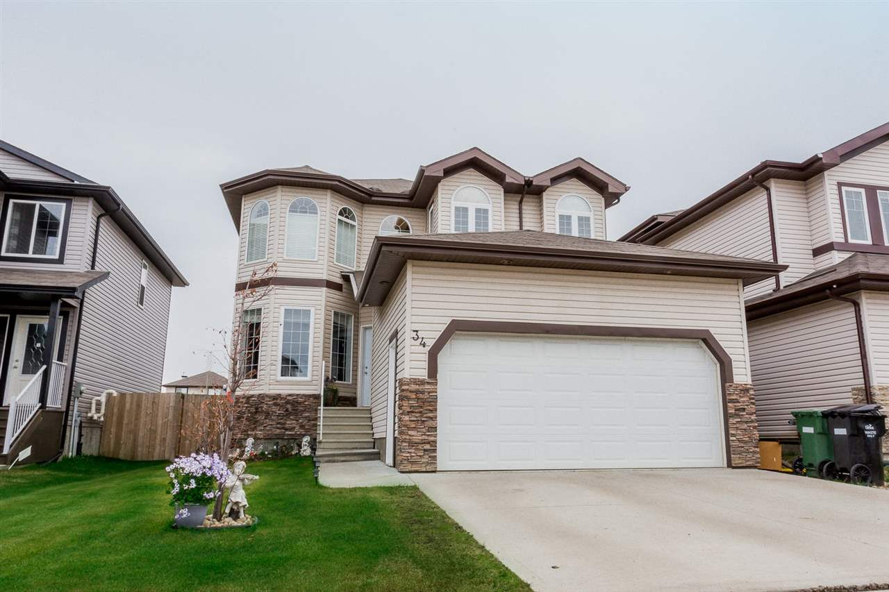 Beautiful fully finished 2211sq ft home in Meadowview with 4+1 bdrms & double attached garage. Grand foyer with vaulted ceiling & stunning staircase. Formal sitting & dining area at the front of the house with hardwood floors and 2 storey window. Main floor office/4th bdrm, plus full bathroom. Great room features corner gas fireplace and is open to the kitchen making it great space for entertaining! Well designed kitchen boasts plenty of cabinetry, granite countertops, pantry & stainless steel appliances. Loft area at the top stairs is perfect as a reading area, office or to watch TV. Spacious master bedroom is complete with 5pc ensuite & walk-in closet. Main bathroom & 2 more good sized bdrms complete the 2nd floor. The fully finished basement offers more great space for the family with a large family room, office area, large 5th bdrm, storage & a 3pc bath with laundry. Backyard is the place to be this summer, big deck for BBQs or down below around the fire! Walking distance to Caledonia Park School.