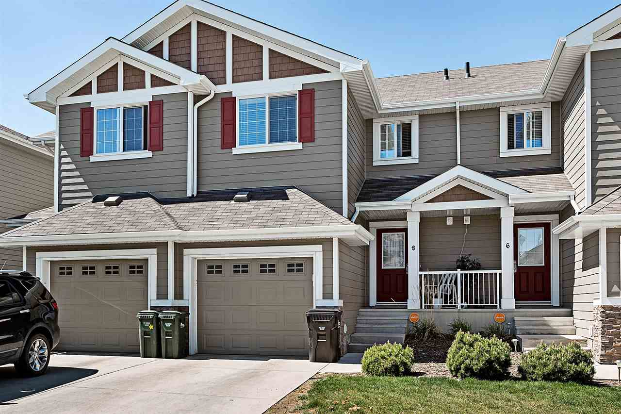 Welcome home to this immaculate, well-cared for 1,213 SqFt 2 Storey half duplex! No smoking / no pet household - you will be amazed that this is not a brand new home (built in 2013)! Be a part of the sought-after neighbourhood of Lakeland Ridge & be steps from parks, playgrounds & trails. Well appointed & loaded with upgrades, this home offers amazing value. The main floor features hardwood flooring throughout & a beautiful kitchen with Granite countertops; dark cabinets; stainless-steel appliances & corner pantry. The living room has a corner gas fireplace & the dining area includes a patio door to access the deck. This will be the perfect home to entertain your family & friends! The upper floor has 3 bedrooms that incl. a large master bedroom featuring a full 3 piece ensuite (large shower) & walk in closet. A full bathroom & enclosed laundry room completes the upper level! The partly finished basement is awaiting your touch. Single attached garage, Hi-Eff Furnace; Tankless water; Triple pane windows!