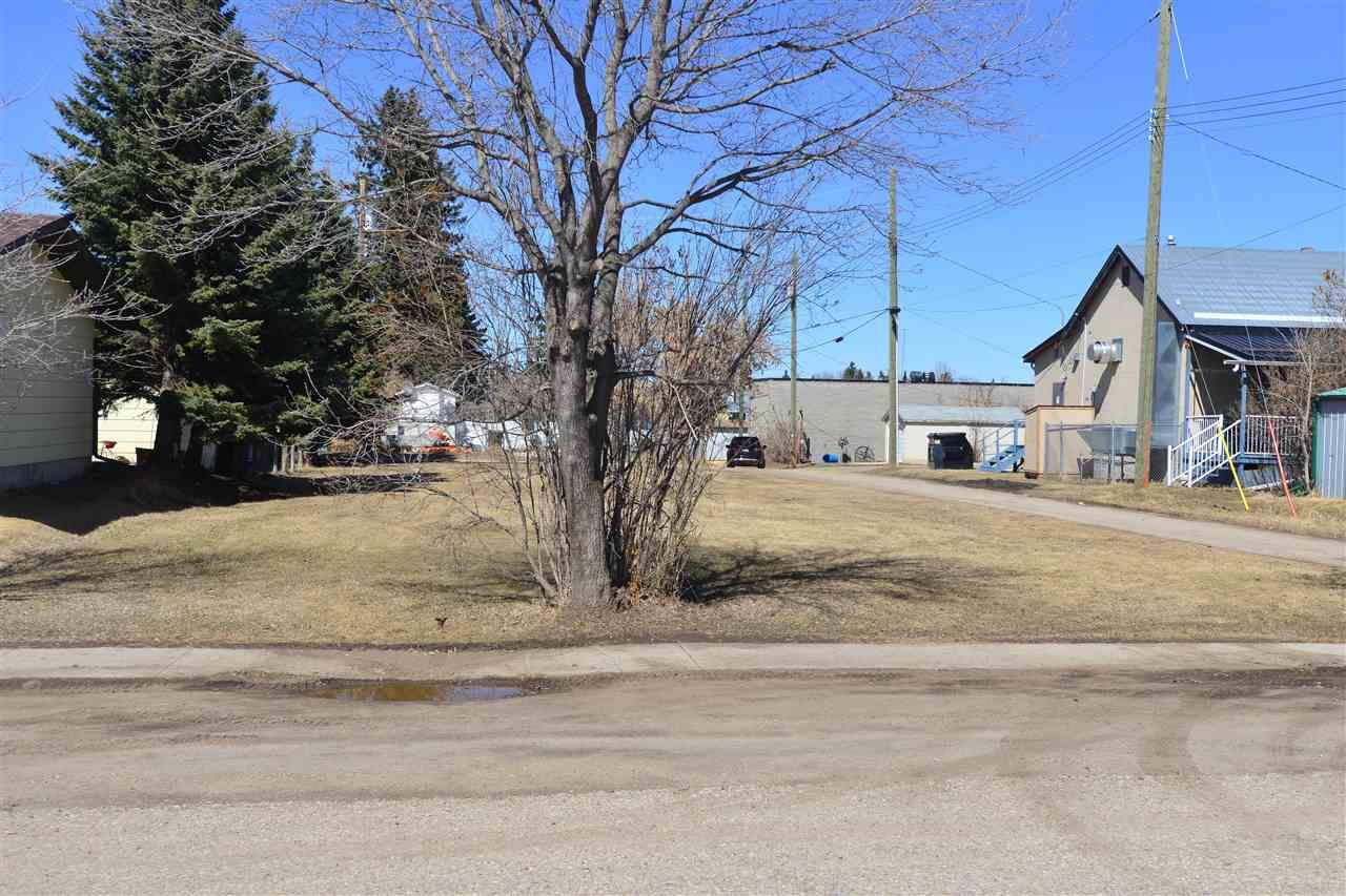 Large Lot located in the Town of Onoway. Town is open to different types of Development.