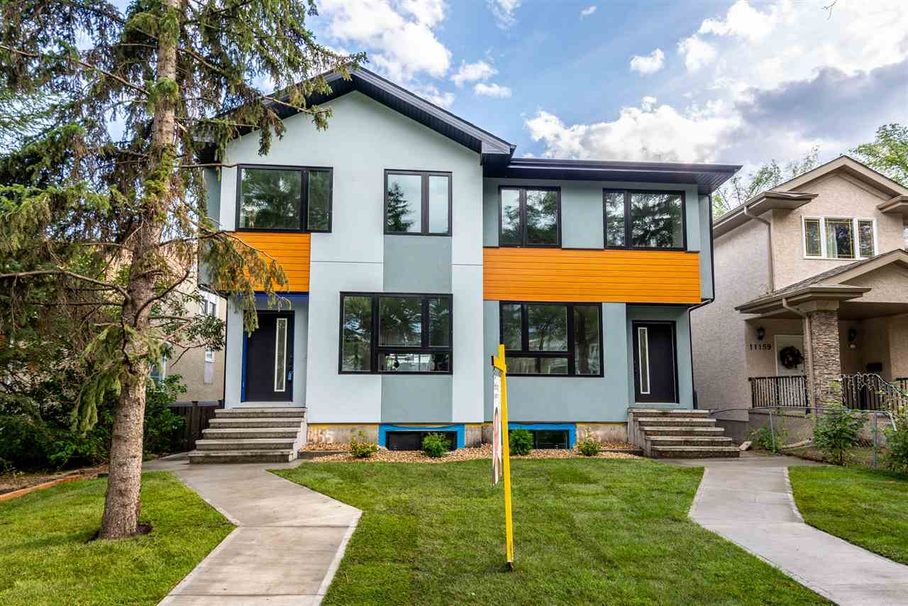 U of A Location! This brand new half duplex is sitting on a quite street in Mckernan-one of the most desirable communities in UA area. With almost 1500sft size, it offers you almost everything you need. 3 bedrooms plus 2.5 bathrooms, separated entrance to the basement, tons of upgraded features all through the house. Walking distance to UA hospital and LRT station. Move-in ready! Don?t miss this great deal!