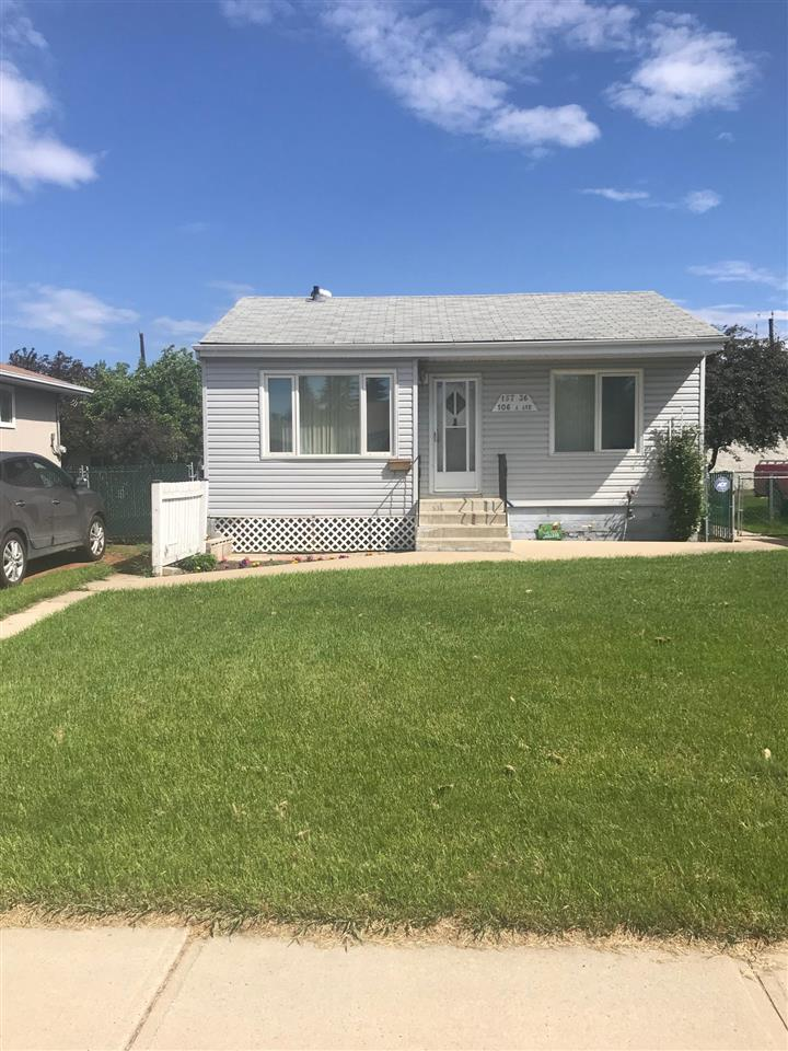 "Incredible opportunity for an In-fill on this large lot (49.86ft x 139.43ft) or for the handyman looking for a project to bring this little gem back to life. Located on a quiet street in Britannia Youngstown steps to the Fred Broadstock Pool, Playgrounds, Schools and so much more. 1000+ sq ft Bungalow 3 bedrooms up, 4 piece bath, large addition which serves as the living room, Newer Furnace(2016), Newer HWT, Central Air, Water Filtration System. Basement sub floor has extensive damage, 60 AMP Panel, House needs work, sold ""As Is"" but a great opportunity for the right individual!!"