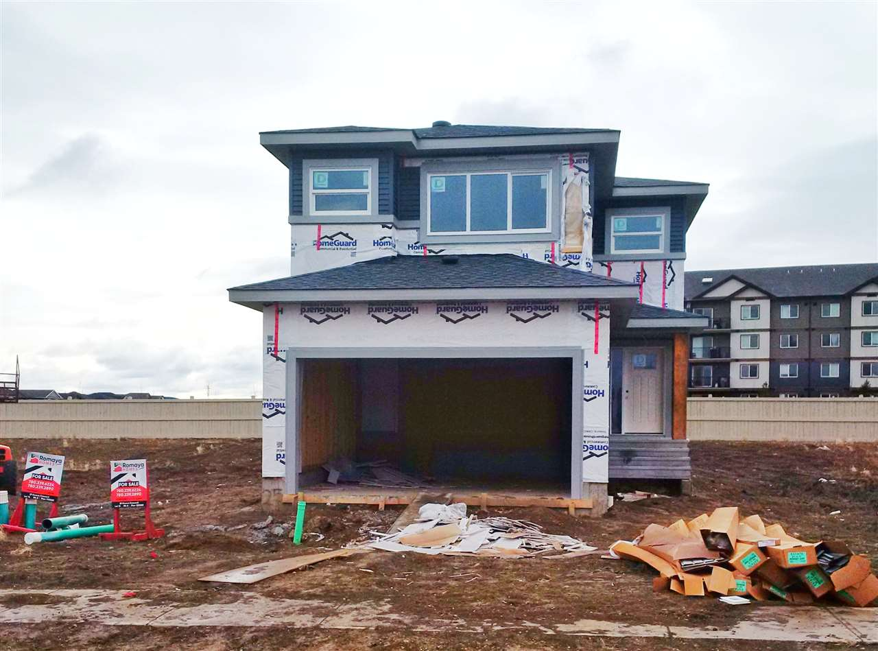 """""""The Valetta"""" an exciting new model now under construction and available from Romaya Homes. This 1,812 sq.ft 3 bedroom, 3 bathroom, two storey is ready for you to choose all your finishes. Construction underway, this home will be ready for a winter 2019-2020 possession. The main floor with 9' ceilings & hardwood throughout consists of the large foyer with 2 pce bath at the entry. The kitchen comes with lots of extra many custom profiles to choose from plus GE appliances and a Midea custom fridge. Off the kitchen with central island is the open dining & living space. The treat is the full pantry which connects the garage entry & kitchen in one! The second floor offers an open loft for a second family room which connects the three bedrooms plus second floor laundry. The master offers a large fully tiled ensuite with dual sink, freestanding tub and separate shower. All LED lighting throughout. Full 1,2,5, & 10 year new home warranty. Many notable options & upgrades to choose from."""