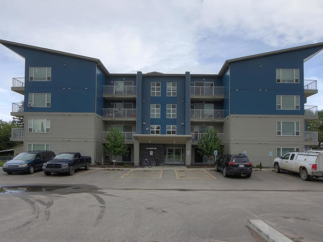 """CORNER UNIT! MODERN AND ELEGANT! WELCOME TO UNIT 217 IN SPRUCE GROVE'S..""""THE NEST""""!  THIS UNREAL CONDO IS STUNNING AND HAS THE FOLLOWING FEATURES...365 SQUARE FEET OF MODERN LIVING SPACE...CORNER UNIT LOCATED ON THE SECOND FLOOR WITH A SOUTH-WEST FACING DECK...THE UPGRADED KITCHEN HAS STAINLESS STEEL APPLIANCES, AN """"L"""" SHAPED ISLAND WITH A SINGLE LEVEL EATING BAR, MODERN LIGHTING, UPGRADED CABINETRY, AND LAMINATE FLOORS....THE STUDIO/LIVING AREA IS SPACIOUS AND OPEN TO KITCHEN...THE LIVING ROOM ALSO HAS SLIDING DECK DOOR ACCESS AND UPGRADED FLOORING...THE MAIN BATHROOM IS A 4 PIECE WITH TUB, SHOWER, SINK TOILET...SUITE ALSO HAS FULL LAUNDRY, BASEBOARD HEATING, AND A DURA-DECK PATIO...THE BUILDING HAS AN ELEVATOR AND WAS CONSTRUCTED IN 2016...THE BUILDING HAS AMPLE PARKING, A FULL FLEX/EXERCISE ROOM AND IS CENTRALLY LOCATED..WALKING DISTANCE TO SHOPPING, SCHOOLS, AND RECREATION! WELCOME HOME"""