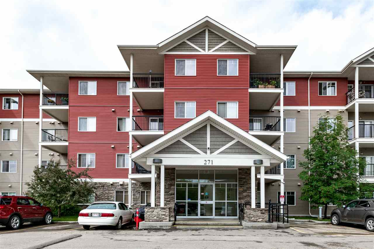 Don't miss out on this great opportunity! Amazing value for this 2 bedroom condo in Windsor Park! It offers a spacious and open floor plan with modern kitchen featuring gorgeous granite, stainless steel appliances and eating area. Large living room, 2 bedrooms, convenient in-suite laundry room, and a 4 piece bathroom. The Master Bedroom has a huge walk through closet plus a 3 piece ensuite. Lovely balcony and one TITLED parking stall. Very pretty building with large foyer. Conveniently located within walking distance to transit, parks, walking trails, and shopping. Come see it today!