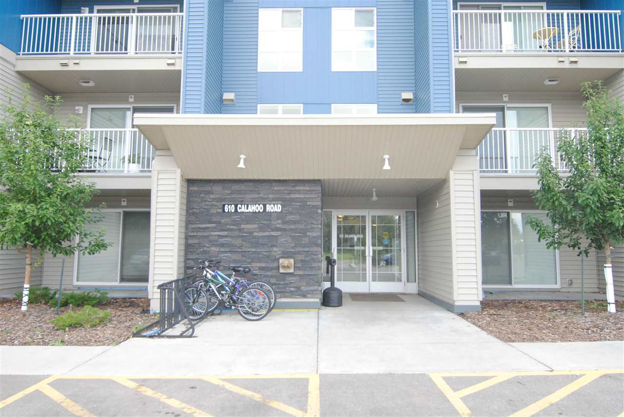 Amazing opportunity at The Nest in Spruce Grove!  This 2016 built BACHELOR Suite is in mint condition and move in ready.  Laminate flooring throughout, all appliances including built in dishwasher and built in microwave.  Guest suite, office centre, plus fitness centre.  This suite is close proximity to schools shopping and all amenities, and just 15 minutes to Edmonton.