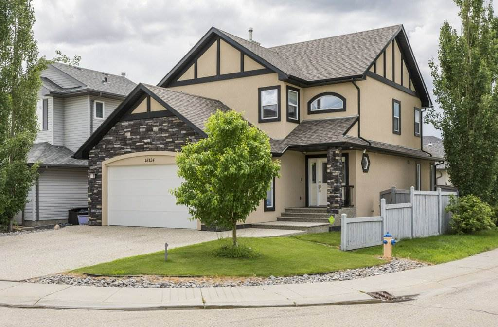 Absolutely Fantastic!! No reason to buy new with this fully upgraded home. In Edmonton's highly sought after community of Chambery. This OPEN CONCEPT home show pride of workmanship as evident as you walk through this home. This fully upgraded home, offering many large windows for natural light, a large great room on the main floor.  Ample cabinets and Large island c/w eating bar and granite. Laminate, ceramic tile and hardwood flooring including stairs and second floor. The second floor provides you with a generous master suite, a 5 piece Ensuite and a large walk-in-closet with organizers and additional 2 large bedrooms and a forth in the basement, upgraded appliances and front and rear landscaping included. Fully finished basement. Step away onto a beautiful deck, not only to take in the rays but to also turn on the grill and relaxing during the those summer days. walking distance to schools, walking trails and playgrounds. This home is a must see great value for price. Welcome Home!!!