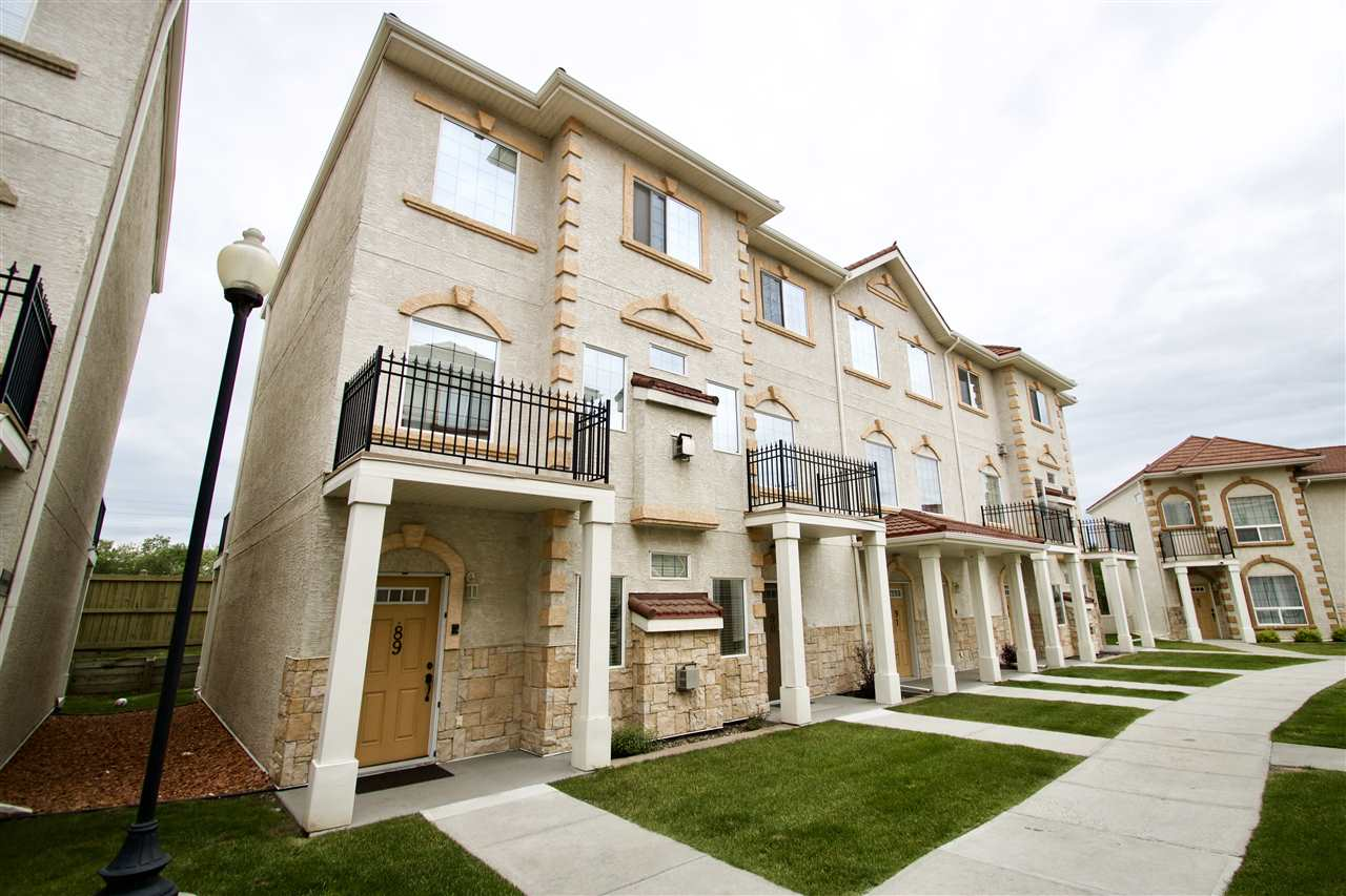 BEAUTIFUL Tuscan Village is located in the great community of Carlton, only 20 mins from Downtown. It is nearby Carlton Lake, Carlton Park & countless amenities such as shopping cntrs, grocery stores, restaurants, Cineplex Odeon movie theatre, golf courses, parks and rec facilities. LIVING in this complex will make you feel like you are residing in a different country, overseas - no need to take that vacation...you'll be living it everyday! This UNIQUE property allows you the luxury of DOUBLE UNDERGROUND PARKING! Park you cars, and walk straight into your unit! A nice touch is the storage/utility room in the basement! The main floor has a GRAND FLOW, from the living room to the kitchen, dining area opening up to the WEST-FACING balcony - a perfect spot to BBQ! Upstairs - each bedroom has it's own ENSUITE & WALK-IN CLOSET! Pride of ownership runs evident throughout this home, as everything has been taken care of immaculately! If YOU ARE LOOKING for some variety from the everyday, YOU'LL FIND IT HERE!!