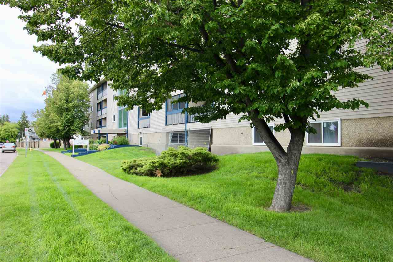 INVESTOR ALERT OR FIRST TIME HOME BUYER LOOKING TO PUT IN SOME SWEAT EQUITY. This one bedroom 2nd floor condo has a u-shaped kitchen large living and bedroom area with in-suite storage. Full main bathroom.  This home needs TLC and the price reflects this.  Located in a family community of Weinlos. Close to parks, schools, shopping etc. New shingles being installed this week!  Healthy reserve fund as well.