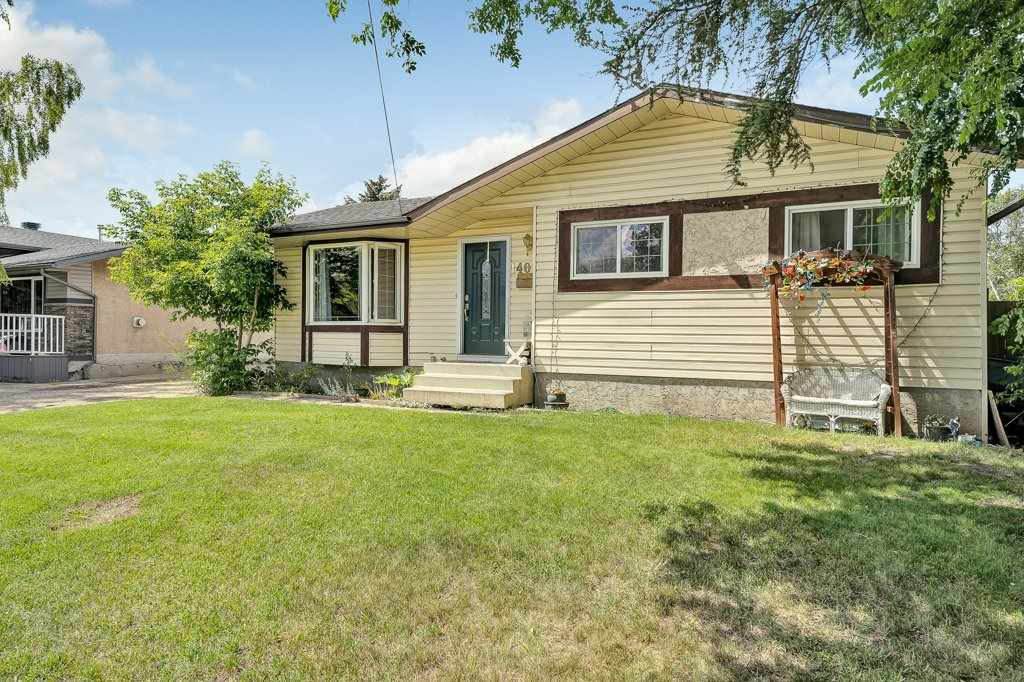 Are you looking for a home that has an updated kitchen, 2 updated bathrooms, a newer roof (3 years) and updated flooring, while still giving you the opportunity to make it your own?  This awesome bungalow in Bannerman is just that! Upstairs you will find beautiful laminate flooring running through the open living room, dining room and down the hall to all three good sized bedrooms. The updated kitchen is a dream in this price range! The openness to the dining room and into the living room allows you to entertain the large crowds easily! While the solid surface counter tops and stainless appliances makes working in the kitchen a joy.  Downstairs there is a wonderfully finished bathroom. The rest of the basement gives you freedom to make this house your own, with two more bedrooms framed in, a little elbow grease can make this your dream home!