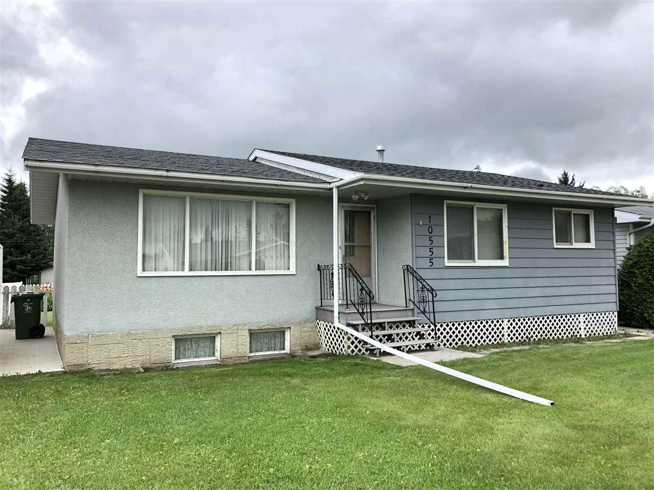 1202 sq.ft - 3+2 bedroom bungalow in nearly original condition.  Older mahogany kitchen cupboards and mill-work. Main-floor laundry!  Built-in china cabinet. Ready for your decorating touches. Basement has 2 bedrooms and a 3-piece bathroom, rest is unfinished.  Extra-deep lot fenced on 2 sides.  Single 14x24 garage.