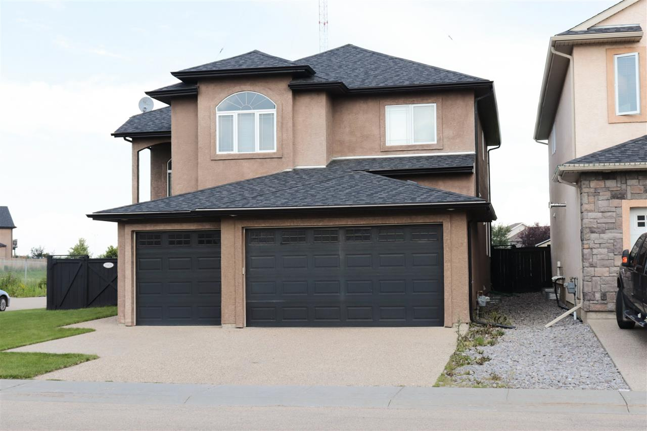 Custom Built in Chambrey! This 2 Storey, triple garage home has everything your desire and more! 19' foyer, the main level showcases gorgeous wood work, formal dining room, a gourmet kitchen that will take your breath away and you can see that no expense was spared from the granite countertops to the mocha glazed cabinets. The porcelian tile throughout the main floor makes it look clean and rich. Completing the main floor is the laundry room and a half bathroom. Upstairs you'll be surprised by the large Bonus room! A great area for family! There is also a Master Bedroom with 4pcs ensuite and walk in closets. There are 2 additional large bedrooms and additional 4pc bathroom complete the upper level. The lower level is fully finished with large family room and potential for an in-law suite. This is a fantastic home, ready for you to move into. Welcome!