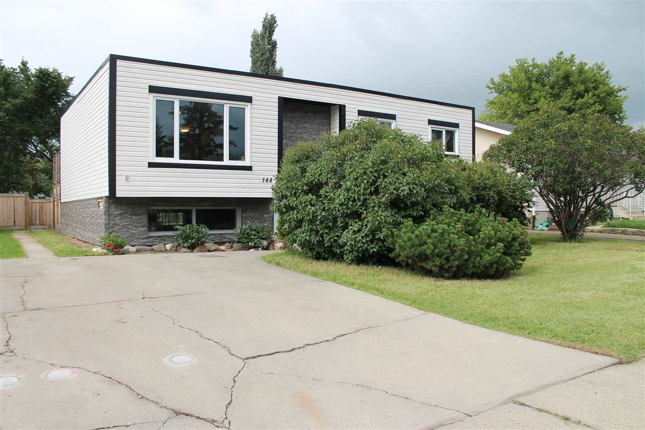 Great location, backing onto the walking trail, in the family friendly community of Richfield. This beautifully maintained fully finished home features 3 +1 bedrooms, SEPARATE ENTRANCE and a huge backyard. The main floor has a good size living room with gorgeous floors and a massive window. The newly upgraded kitchen has stainless steel appliances, ample cupboards and breakfast bar. The dinette has direct access to your private cedar deck through double garden doors. The master bedroom has a two piece en-suite with functional vanity and walk in closet. The other two bedrooms on the main floor are near the four piece bathroom. The lower level has a separate entrance and boasts a full kitchen, living room, massive bedroom, newer three piece bathroom and storage room. The large backyard is fantastic with two sheds, a bountiful garden, stone patio, cedar deck and wonderful landscaping. This home is close to many schools, shopping and public transportation. Don't miss out on this great INVESTMENT OPPORTUNITY!