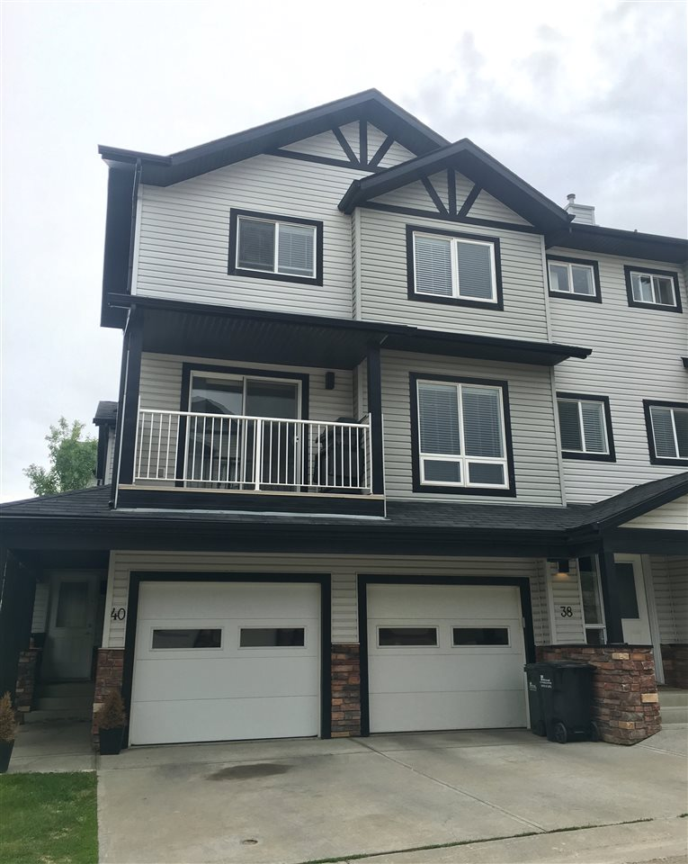 Don't let this opportunity pass you by! This condo has everything you need with 3 bedrooms, 2.5 bathrooms, a Single Attached Garage & has JUST been painted. Perfect for any family, or a first time home buyer - you will not be disappointed. With an open floor plan & many windows, the main level also features a large kitchen that boasts Granite countertops with plenty of cabinets. You have the option to eat at the kitchen counter or in the dining area where you will find patio doors leading out to the balcony. The spacious living room & 1/2 bath complete this floor. The upper level has 3 bedrooms including a large master bedroom - complete with a full 4 piece ensuite & a walk-in closet. Don't miss the convenient laundry area either! Soak in the sun on the deck with a view. The full basement lends to plenty of storage or potential for addition living space. In the neighbourhood of Summerwood, you are steps to walking trails, parks, playground, Yellowhead Trail & so close to shopping/restaurants!
