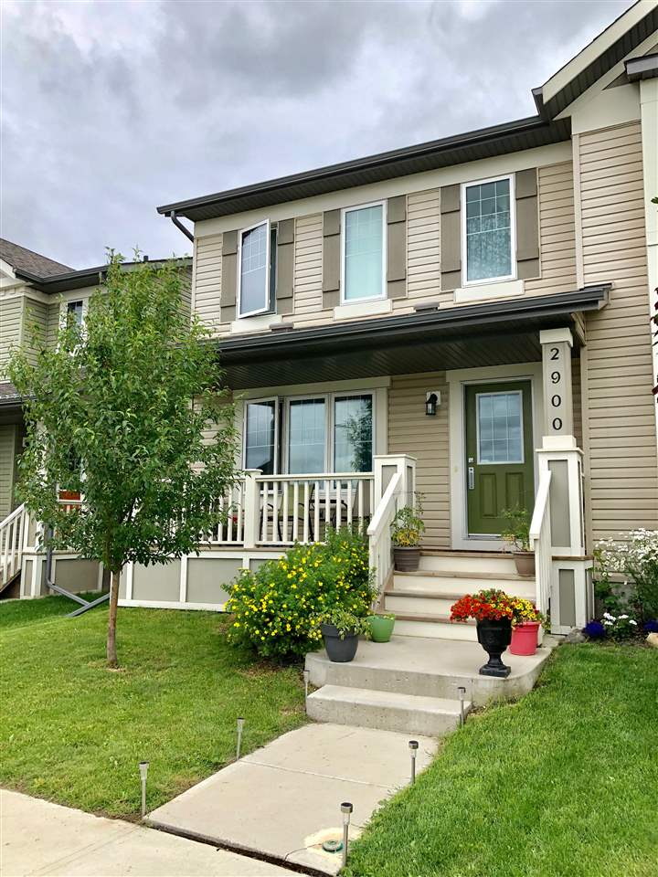 This well appointed west facing 3 bdrm, 2 full & 1 half bath duplex offers incredible value in the family friendly community of Maple Crest! Built in 2013 this home offers not only a dbl detached garage, east facing deck w/ natural gas hook up & full landscaping but is located close to shopping, restaurants, public transportation & major arterial roads! Upon entry you'll be greeted by laminate flooring thruout the open concept main level! A cozy front liv rm, central dining area & family size kitchen graces the back of the home boasting 4 stainless steel appliances & a central working island w/ flush eating bar! You'll also access a private half bath, the deck & backyard! Upstairs the master bdrm offers a full 4pce ensuite & walk in closet, the 2nd bdrm offers a walk in closet & the 3rd bdrm is a good size with a central 2nd full bath! The unfinished bsmt offers development/storage potential, laundry, h/e furnace & oversize 60 gal hwt! NO CONDO FEES! Home sweet home!