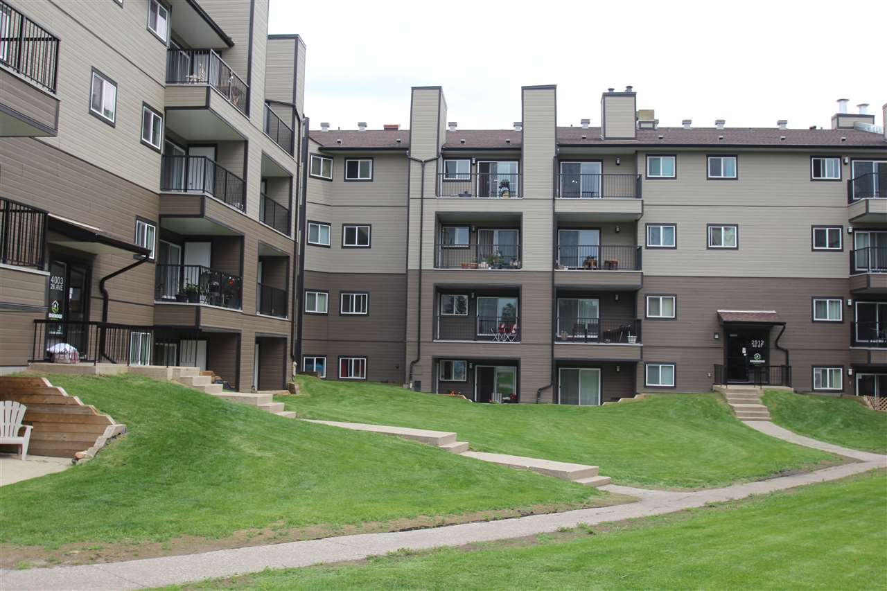 Millwoods condo and great RENTAL opportunity. Newer floors, counter appliances and back splash in this top floor corner unit in the building. 2 bedrooms, 4 piece bathroom. Building has been going through renovations. Units in rental pool. Don't miss this opportunity!