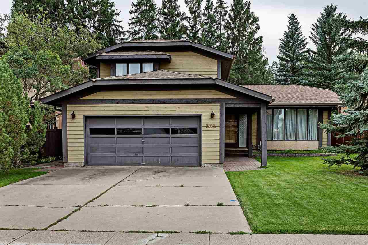 What an amazing opportunity to make this 1,988 SqFt 2 Storey home your own. You can't beat this location - on a quiet street in Gariepy backing onto a private, treed greenspace. This huge, south facing back yard is forest-like & can be your escape from all of the business of life. With SIX Bedrooms; 3.5 Bathrooms; a Fully Finished Basement, this is the perfect property for any family. Recent UPGRADES include: NEW Shingles; NEW Hot Water Tank; Newer Fencing; Updated Ensuite. The main floor has a spacious living room; separate dining room & a functional kitchen. The large family room has a brick-facing fireplace with double patio doors that offer a tremendous view & lead you out onto the patio in the back yard. A 1/2 bath; laundry & bedroom complete the main floor. The upper floor has 3 bedrooms incl. a massive master w. an ensuite (new 5' tiled shower) & W/I closet. The basement has a large rec room w. a 2nd fireplace; 2 bedrooms; bathroom & sauna! Close to everything you need. Don't let this pass you by!