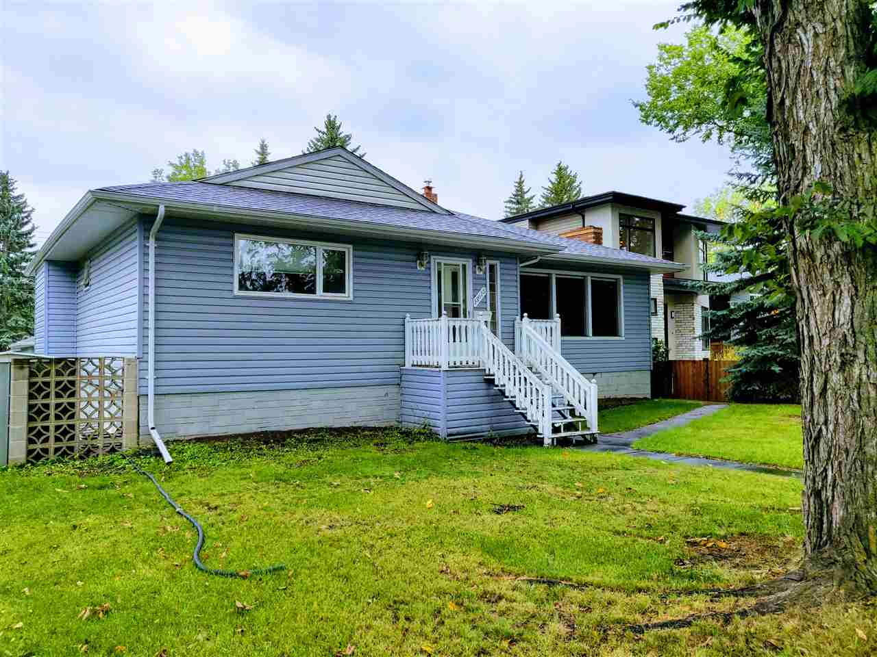 Looking for a character home in Old Glenora on the LRT line minutes to Down Town & UofA? Over 1500 sqft. bungalow is waiting for your personal touch. Over 130k in renovations in the last 5 years! Steps to Glenora Elementary school & Westminster JR & jog/bike to River Valley.  Large kitchen and dining room with access to huge raised deck. Some of the recent renovations include new appliances & main floor washer/dryer, new shingles and eavestroughs around the house and garage, New garage door, New plumbing throughout the home including a back flow valve. The foundation was repaired around all house and exterior weeping tile system and new sump pump. All basement walls where redone with interior repairs to concrete with new insulation and dry wall. New flooring & ceiling in basement. Brand New bathroom development. Newer high efficiency furnace, newer exterior doors, vinyl windows, gas fireplace, gas BBQ hookup on balcony. Long term Infill potential!