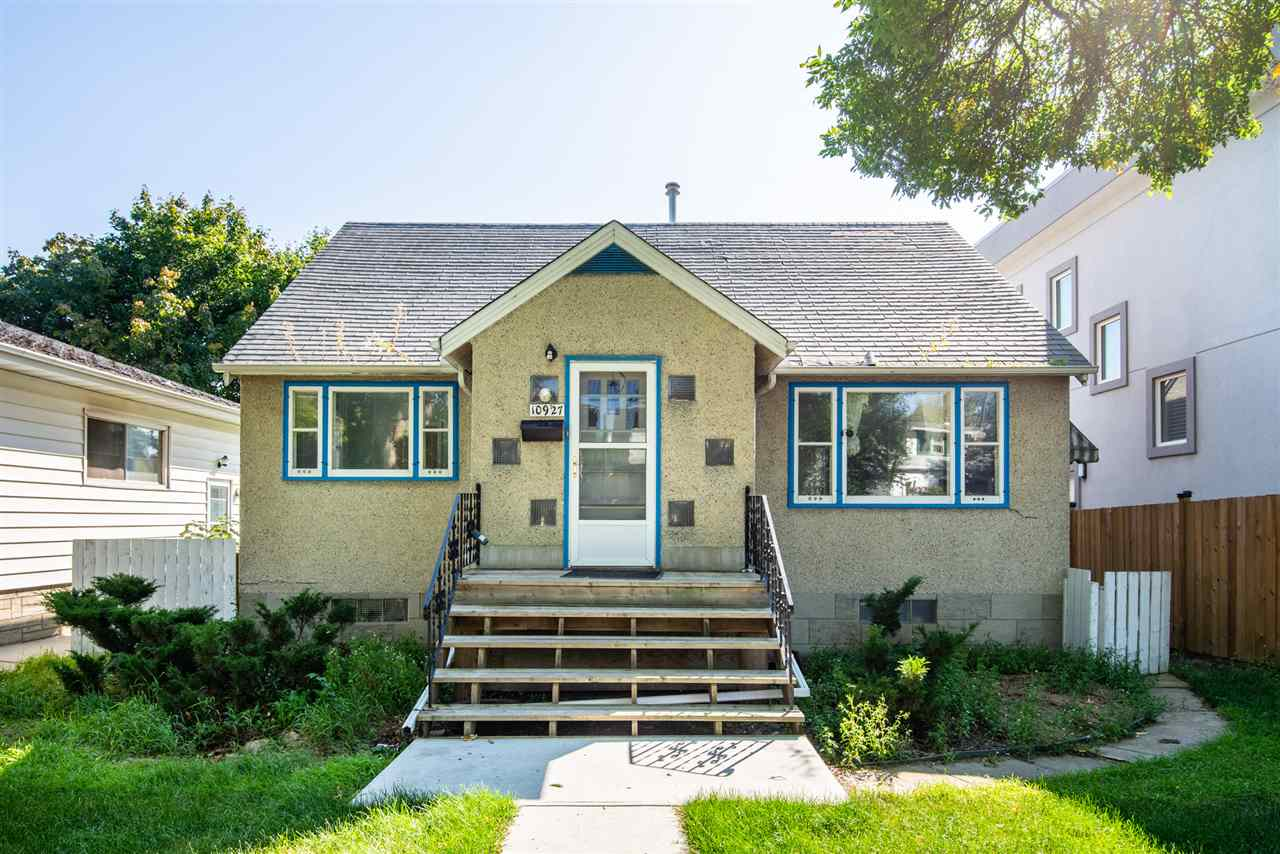 Location, Location, Location! Great investment property in desirable Mckernan in University area ? 44?X148? lot, zoned RF3. 1,460 sqft semi-bungalow home, total of 4 bedroom & 2 full bath. South facing backyard with a double detached garage. Walking distance to LRT, UofA campus & Hospital.