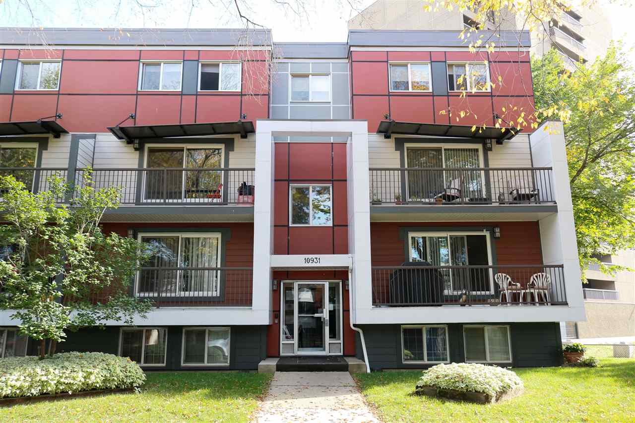 Location is key! this centrally located condo has easy access to transportation, downtown and the LRT.  2 bedrooms with over 800sqft of living space in this multi level unit.  Building has scene major updates over the last few years and is ready for a new person to call it home.