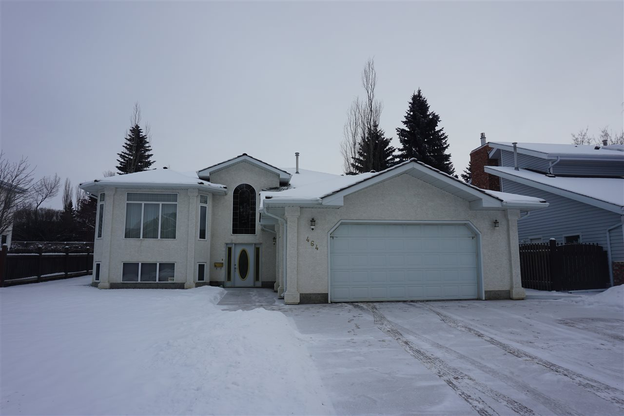 Close to 4000 square feet of developed area. As you enter this home you will notice a large foyer. Up few steps you will find a formal living room and dining room on your left, then going further in there is large open kitchen on your left with an island and dinette;  on the other side is living room with gas fireplace. To the right is extra wide hall way leading to the bedrooms on the left; and to the right you will find a main bathroom. Oh yes, two of the bedroom have en suites. All the bedrooms are comfortable to fit queen size bed and all other furniture that goes with it.  Basement is very spacious with 2 extra bedrooms, bathroom, wet bar, large rumpus room and games room and one of a kind laundry room. This home has a potential for in law suite.   Oversized garage with room for RV parking.