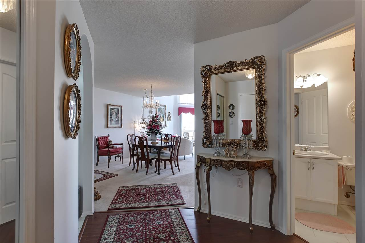 The dining room space is generous sized as are all the rooms in this unit.