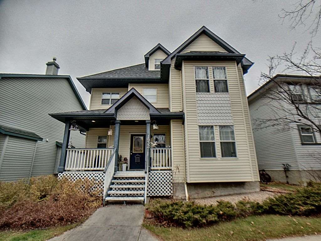 3 story home over 1900ft2 located on quiet home steps from the park. Original owners in this 3 bedroom 2.5 bathroom home. Home has been lovingly maintained and has 50 year shingles and newer carpet (August 2019). Main floor laundry, gas fireplace, large deck and great-sized yard complete the home. Third floor features large bonus room with dormer windows looking out over the community. Master bedroom is large with 4 piece ensuite and walk-in closet. Located just minutes from Terwillegar rec center and excellent access to Henday, Whitemud and amenities.