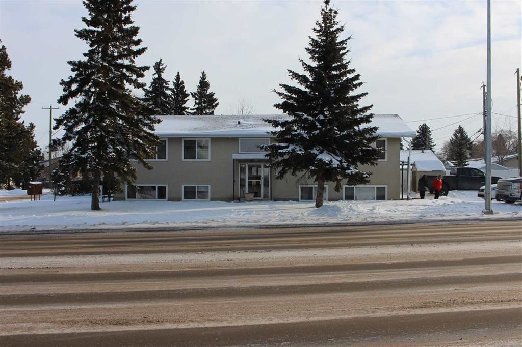 4609 - 46 Street is a four-plex located in Leduc. Alberta., It is a walk-up, wood-frame construction building that as build in 1976. There are no balconies. The suite mix is 1 one-bedroom suite and 3 two bedroom suites. Renovations include: All floors redone - last five years. All kitchens redone - last three years. Double pane windows redone - last five years. Boiler replaced - last six years. Hot water tank - replaced last six years. Newer kitchen cupboards. The property is located next to Telford Lake, which is surrounded by William F. Lede Park, Telford Park and Peace Park.
